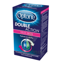 Optone Double Action Solution Oculaire Yeux Secs Fl/10ml à COLIGNY