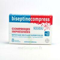 Biseptinecompress Compressses Impregnees, Bt 8 à COLIGNY