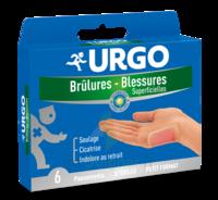 Urgo Brulures-blessures Petit Format X 6 à COLIGNY