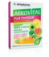 Arkovital Pur'energie Multivitamines Comprimés Dès 6 Ans B/30 à COLIGNY