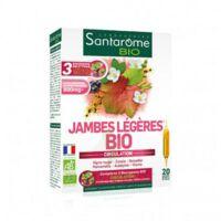 Santarome Bio Jambes Légères Solution Buvable 20 Ampoules/10ml à COLIGNY