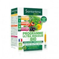 Santarome Bio Programme Ultra Minceur Solution Buvable 30 Ampoules/10ml à COLIGNY