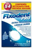 Fixodent Pro Comprimés Nettoyant Fraîcheur Longue Durée Pour Prothèse Dentaire B/54 à COLIGNY