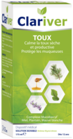 Clariver Solution Buvable Toux Sèche Et Productive Adulte Fl/175ml