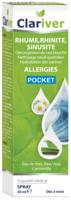 Clariver Spray Nasal Hypertonique Fl/30ml à COLIGNY