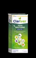 Clariver Sirop Toux Nocturne Adulte Fl/150ml à COLIGNY