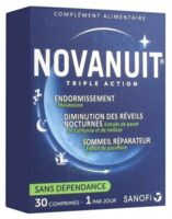 Novanuit Triple Action Comprimés B/30 à COLIGNY