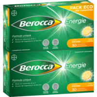 Berocca Energie Comprimés Effervescents Orange B/60 à COLIGNY
