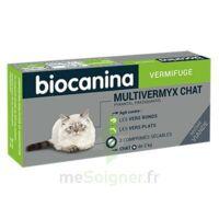 Biocanina Multivermyx Comprimés Vermifuge Chat B/2 à COLIGNY