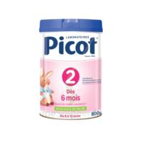 Picot Standard 2 Lait En Poudre B/800g à COLIGNY