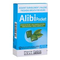Pierre Fabre Oral Care Alibi Pocket 12 Pastilles à COLIGNY