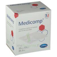 Medicomp® Compresses En Nontissé 7,5 X 7,5 Cm - Pochette De 2 - Boîte De 25 à COLIGNY
