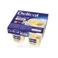 Delical Riz Au Lait Nutriment Vanille 4pots/200g