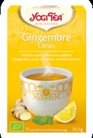 Yogi Tea Gingembre Citron à COLIGNY