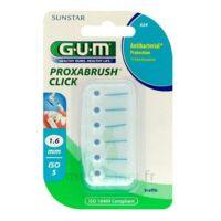 Gum Proxabrush Click, 1,6 Mm, Bleu , Blister 6 à COLIGNY
