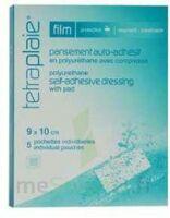 Tetraplaie Film Pansement Adhésif Stérile Film Pu 9x10cm B/5 à COLIGNY