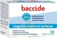 Baccide Lingette Désinfectante Mains & Surface 12 Pochettes à COLIGNY