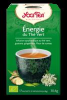 Yogi Tea Thé énergie Du Thé Vert Bio 17 Sachets à COLIGNY