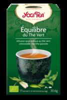 Yogi Tea Thé équilibre Du Thé Vert Bio 17 Sachets à COLIGNY