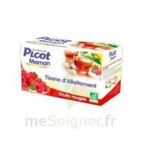 Picot Maman Tisane D'allaitement Fruits Rouges 20 Sachets à COLIGNY