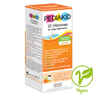 Pédiakid 22 Vitamines Et Oligo-eléments Sirop Abricot Orange 250ml à COLIGNY