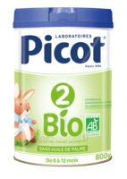Picot 2 Bio Lait En Poudre 800g à COLIGNY