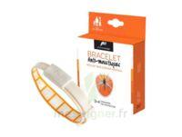 Pharmavoyage Bracelet Répulsif Origine Végétale Anti-moustique Orange à COLIGNY