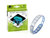 Pharmavoyage Bracelet Phosphorescent Anti-insectes Bleu Fluo