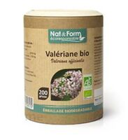 Nat&form Eco Responsable Valériane Bio Gélules B/200 à COLIGNY
