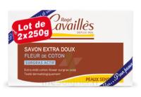 Rogé Cavaillès Savon Solide Surgras Extra Doux Fleur De Coton 2x250g à COLIGNY