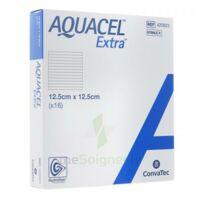 Aquacel Extra Pansement Hydrofiber Stérile 12,5x12,5cm B/16 à COLIGNY