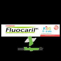 Fluocaril Kids Dentifrice Fraise 0-6 Ans T/50ml à COLIGNY